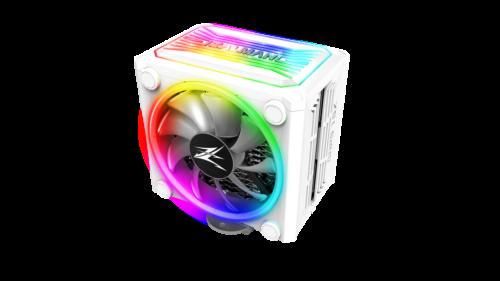 ZALMAN CNPS16X WHITE CPU Heatsink Cooler FAN RGB LED Intel 1