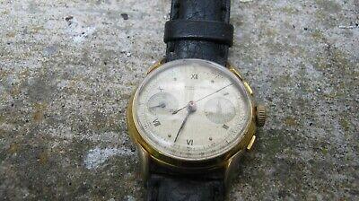 Vintage chronograph watch