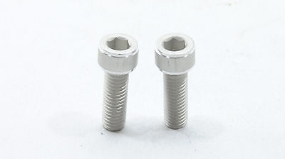 2 ASHIMA Bicycle Water Bottle Cage Bolts 7075 T6, SUPER LIGHT ()