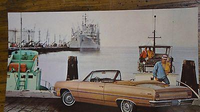 1965 Chevelle Malibu Convertible Dealer Post card NOS unused 65 chevrolet chevy 1965 Chevelle Malibu Convertible