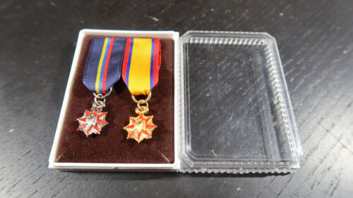 Military order of Foreign Wars Ribbon Bar Miniatures