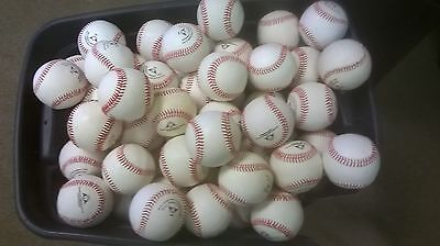 The BEST DEAL for a 5 dozen all leather game core baseballs in a premium BUCKET!