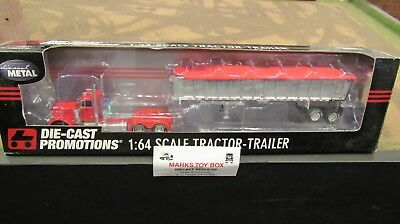Used, DCP#32527 OWNER OPERATOR PETE 379 SEMI CAB TRUCK &EAST END DUMP TRAILER 1:64/FC for sale  Shipping to Canada