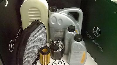 GENUINE MERCEDES SERVICE KIT E220 CDI w212 models 651 DIESEL , ALL FILTERS INC