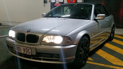 BMW 330ci convertible manual low k's  Woolloongabba Brisbane South West Preview