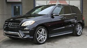 2015 Mercedes-Benz ML 350 AMG 4matic Bluetec Pneus ete 21po neuf