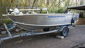 4.2m 2011 Stessco FL439, 40hp Yamaha, 55lb 12v Mini Kota i pilot Tarragindi Brisbane South West Preview
