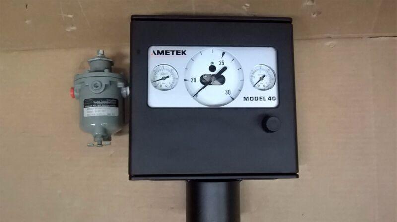 AMETEK Model 40 Pressure Controler Model 21TB3150-5275ACADBL