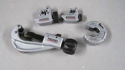 Ridgid Tubing Cutters Great Starter Set 4 Pcs.