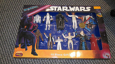 JusToys Star Wars Bendems 10 piece Gift Set - Mint in Sealed Box 10 Piece Seal Set