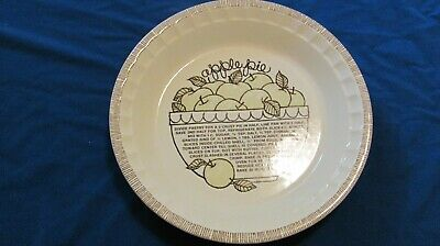 Royal China Jeannette Apple Pie Dish China Pie Dish