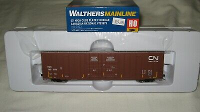 High Cube Box - Walthers HO 60' High Cube Plate F Box Car Candian National DWC 793979 #910-2923