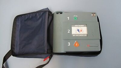 Heartstream Aed Trainer With Case Technology By Hewlett-packard Hp