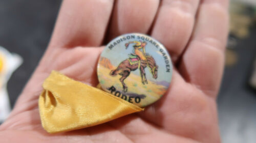 Madison Square Garden Rodeo Pin Button