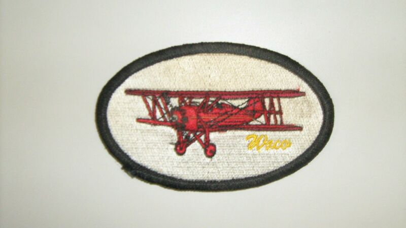Waco Aircraft Patches Made in the USA by All Star Warbirds Custom Embroidery