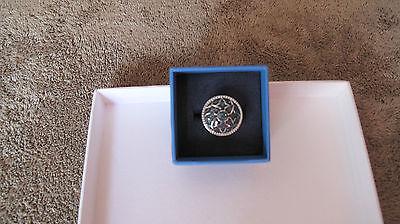 Andalusia Diamond Collection(Tm), .20ctw Round Blue Velvet Diamond