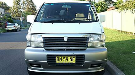 2000 Nissan Elgrand SUV Mount Druitt Blacktown Area Preview