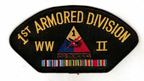 1st Armored Division WWII Hat Patch