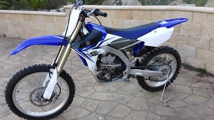 Yamaha YZ450F as new