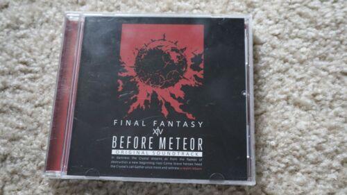 Final Fantasy 14 Before Meteor Blu-ray Soundtrack (Bonus pet code not included)