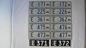 Number Plate South Melbourne Port Phillip Preview