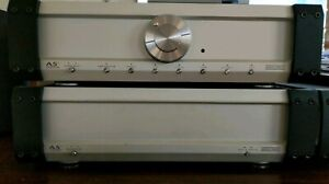 Musical Fidelity A5 pre and power amplifier combo