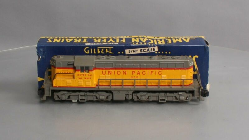 American Flyer 372 Vintage S Union Pacific GP-7 Powered Diesel Locomotive