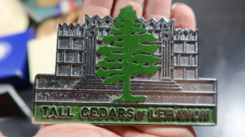 Tall Cedars of Lebanon Plaque