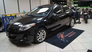 2012 Mazda Mazda3 AUTO!LOADED!GT!LEATHER!ROOF!SAFETY AVAILABLE!