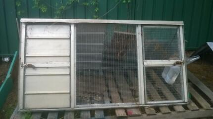 Chicken cage - 1800 x 850 x 1000 - (AUD90.00 with two chickens) Menora Stirling Area Preview