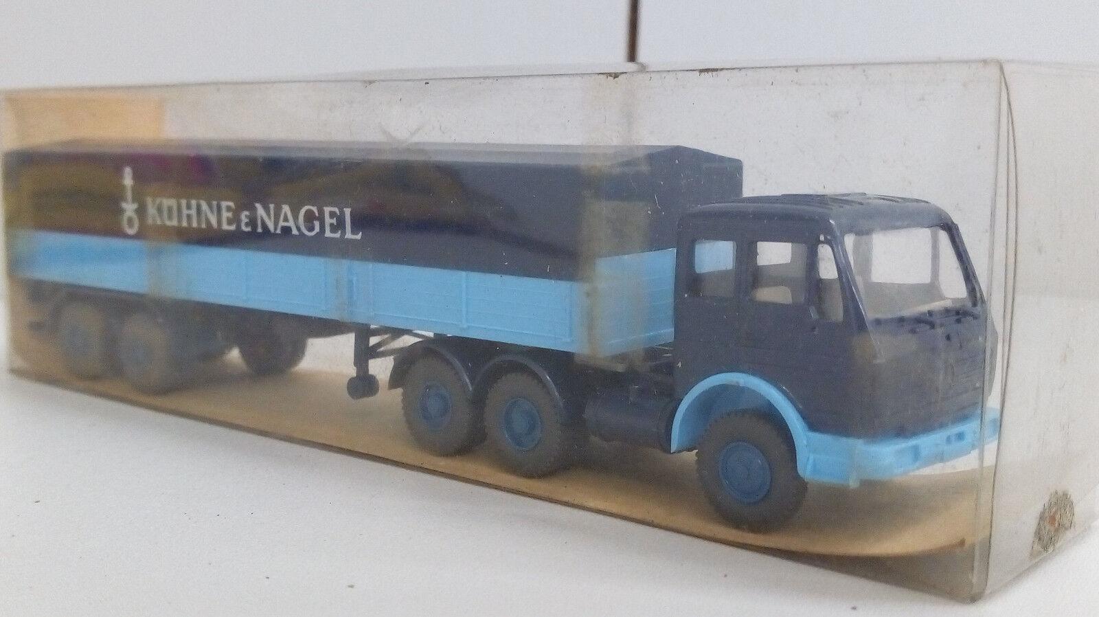 """Wiking: 2632 Mercedes-Benz""""Spedition Kühne und Nagel""""- mint in Box 1:87 -OVP"""