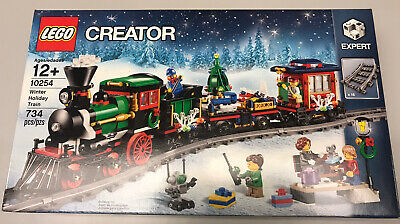 LEGO Creator 10254 RETIRED Winter Village Holiday Christmas Train New Sealed