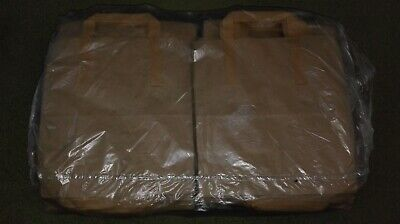 Take away/cafe/event recycled brown paper carrier bag - medium size (120 pack)