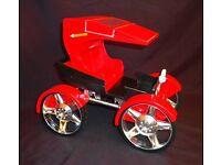 Barbie Bratz buggy horse dolls and Cinderella carriage Spirograph