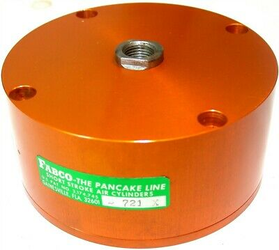 Fabco Compact 34 Stroke Air Cylinder 3 Bore B 721 X New