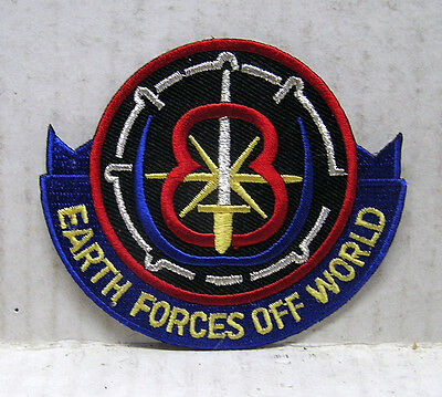 "Babylon 5 Earth Forces Off World  3""  TV Costume/Uniform Patch-USA Mail(B5PA-11)"