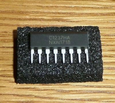 2 x uPC 1237 HA ( = 2 pcs = Protector IC For Stereo Power Amplifier SIP-8 )