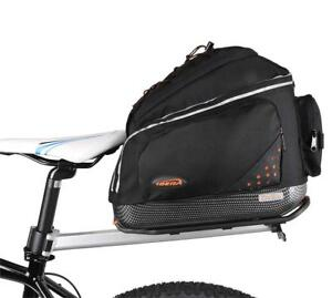 NEW Ibera Parka Bicycle Seat Post Bicycle Commuter Rack and Quick Release Bag Condition: New