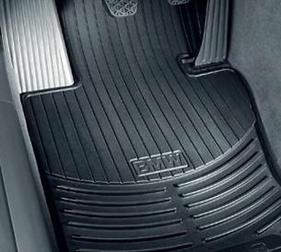 BMW X5 E70 all weather rubber floor mats    FRONT Black 82112318671