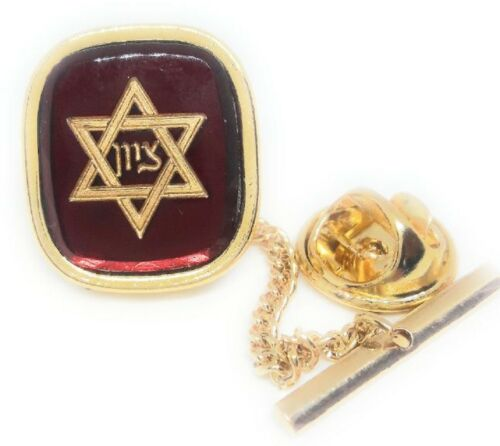 STAR OF DAVID TIE TACK / LAPEL PIN