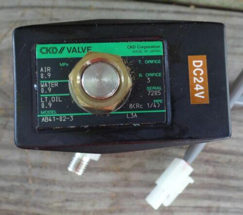 CKD / Valve Model AB41-02-3