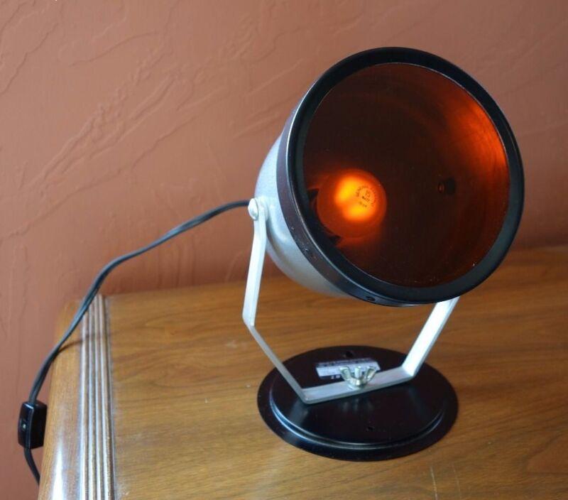 Vintage Darkroom Lamp Red Safelight
