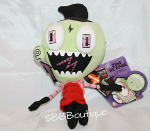 NEW-8-Zim-Beanie-Invader-Plush-Zit-Boy-Stuffed-Episode-7B-Rise-of-the-Zitboy