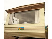 Retro Style Static Caravan, 2 Bedroom for cheap accommodation, Storage, Hobby Room