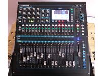Allen & Heath QU-16 Digital Mixing Desk Chrome Edition