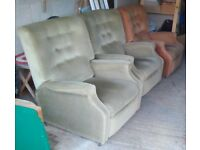 3 Recliner Armchairs - FREE - will split