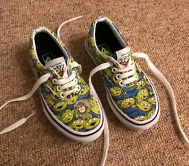 Toy Story Vans - boys shoes size 11
