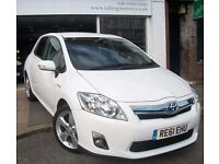 2011 TOYOTA AURIS HYBRID T-SPIRIT,HALF LEATHER,FULL TOYOTA HISTORY,LOW RATE FINANCE,REVERSE CAMERA