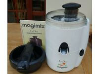 Magimix Le Duo Juicer and Citrus Press