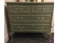 Antique, Victorian chest of drawers.